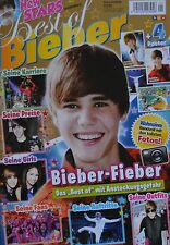 JUSTIN BIEBER - New Stars Magazin 01/2010 + XXL Poster - Clippings Sammlung