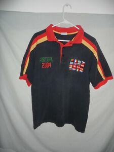 2004 EURO shirt Portugal football soccer polo jersey UEFA Greece fan 2000s