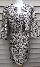MICHELLE ANTONELLI 2 Piece Suit   Strapless Dress W/Jacket  100% Silk  Size 10