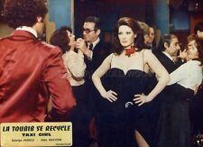 SEXY EDWIGE FENECH TAXI GIRL LE TOUBIB SE RECYCLE 1994 VINTAGE PHOTO ORIGINAL #2
