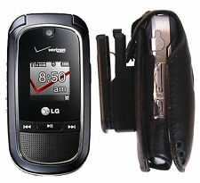 vx8360 LG Holster phone 8360 Cell Leather flip Belt clip skin Case holder