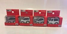 Choro Q (Takara) Set Of 4 Mini Vans (In Stock USA) Lot Of 4