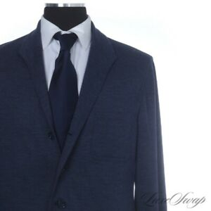 #1 MENSWEAR Justo Gimeno Cashmere Wool Blend French Jersey Teba Jacket Blazer 46