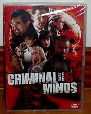 MENTES CRIMINALES 6º TEMPORADA 6 DVD NUEVO PRECINTADO ESPAÑOL SERIE (SIN ABRIR)