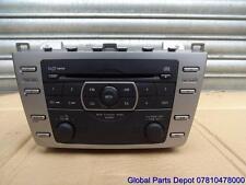 2010 MAZDA 6 CD Player in Dash 6 multilettore & RADIO ORIGINALE gs1e669rxc