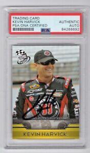2012 Press Pass Racing NASCAR Kevin Harvick Signed Trading Card #16 PSA/DNA