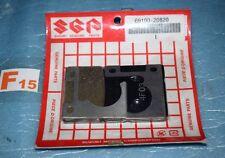 2 plaquettes de frein d'origine SUZUKI GSX 600 F GSX 750 F KATANA 69100-20820