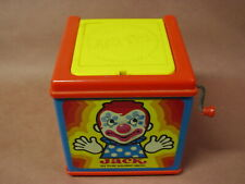 VINTAGE - MATTEL -  JACK IN THE MUSICAL BOX