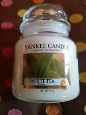 new Yankee Candle medium jar - white tea - lovely gift