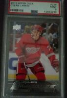 2015-16 Upper Deck #228 Dylan Larkin Young Guns PSA 9 MINT Detroit Red Wings RC.