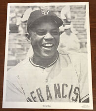 New ListingRare 1960 Sports Pix Photo Willie Mays San Francisco Giants Small 8X10