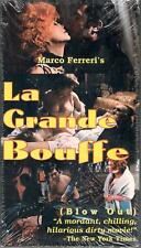 LA GRANDE BOUFFE RARE SEALED VHS MARCO FERRERI Marcello Mastroianni CULT CLASSIC