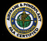 FEDERAL AVIATION ADMIN HAT PATCH AIRFRAME & POWERPLANT FAA PIN UP CERTIFIED