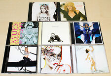 8 CD SAMMLUNG KYLIE MINOGUE X BODY LANGUAGE FEVER APHRODITE ENJOY YOURSELF LETS
