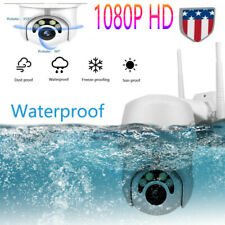 HD 1080P Wireless Camera WIFI Home Security CCTV Night Vision Outdoor Waterproof