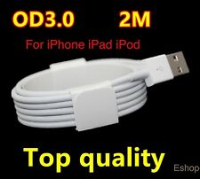 2M Fast Charge USB Lead Cable 4 Apple iPhone 6 7 8 Plus 5 5S iPad iPod iPhone X