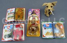 Mcdonald's Teenie Beanie Babies 2000 International Bears Ii Legends Britannia Ty