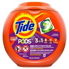 Tide Pods Spring Meadow Laundry Detergent Pacs, 42 Count