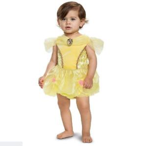 Disney Princess Belle Baby Toddler Dressup Costume Dress 12-18M
