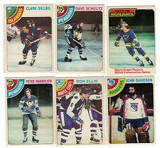 1978-79 OPC NHL Hockey Lot - Pick only the cards you need (NM) - $1