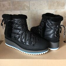 UGG Cayden Mini Boots Black Waterproof Winter Snow Boots Size US 6.5 Womens