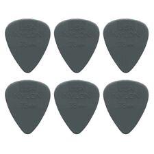 "6 x Jim Dunlop Nylon Standard ""Greys"" .73MM Gauge Guitar Picks *NEW* Plectrums"