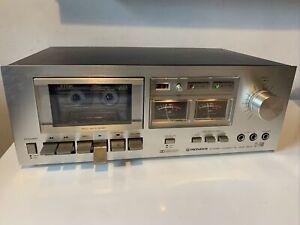 Vintage Pioneer CT-F500 Cassette Tape Player Deck, Hifi Separate