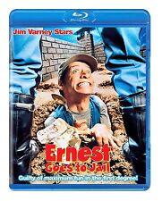 ERNEST GOES TO JAIL (Jim Varney) - BLU RAY Region Free - Sealed