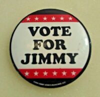 VOTE FOR JIMMY Jimmy John's Franchise - 2008 Humorous Campaign Pin Back Button