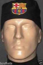 FCB / BARCELONA SOCCER LOGO ON BLACK SCRUB HAT FREE CUSTOM SIZING!