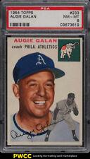 1954 Topps Augie Galan #233 PSA 8 NM-MT (PWCC)