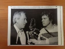 Vtg Wire Press Photo Musician Andy Williams Love Story Alone Again Lonely Street