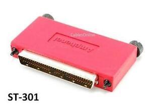 HPDB68 Active External 68-Pin Male SCSI-3 Terminator - CablesOnline ST-301