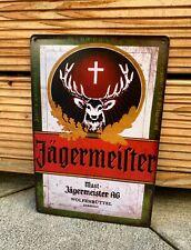 Jägermeister Blechschild Retro Nostalgie Vintage Bar Restaurant Alkohol 20x30cm