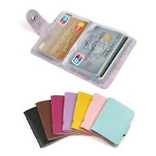 porte carte de crédit 12 pochette peut contenir 24 carte maxi 10.5 cm x 7.5 cm