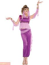 Ladies Arabian Princess Costume Bollywood Indian Jasmine Fancy Dress Womens