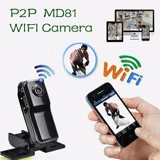 MD81 HD Mini W-lan P2P IP Kamera Webcam Drahtlos Sicherheit Aufnahme Camcorder