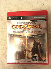 God of War: Origins Collection (Sony PlayStation 3, 2011) PS3