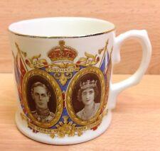 Standard China George VI & Queen Elizabeth Coronation 1937 Commemorative Mug.