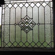 Leaded Textured Glass Window
