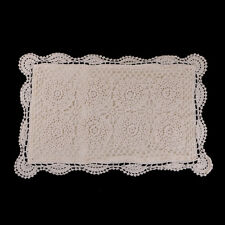 natural cotton crochet lace pillowcase vintage pillow cover cushion for home
