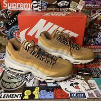 Nike Air Max 95 Essential Wheat White Celestial Gold AT9865-700 Men's 8.5 Wmn 10