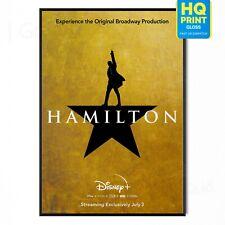 Hamilton Disney+ Musical Movie 2020 Poster | A5 A4 A3 A2 A1 |