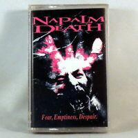 =NAPALM DEATH Fear, Emptiness, Despair (Cassette 1994 Earache) MOSH 109