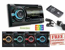 NEW Sony WX900BT Double Din CD Player Car Radio Bluetooth Pandora Iphone USB AUX