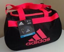 adidas Diablo Small Duffel  Gym Bag Black Orange