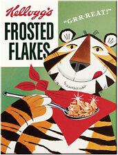 Kellogg's Pubblicità Breakfast CIBO Frosties TIGRE REGALO