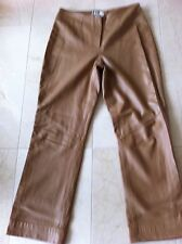 Anthea Crawford -REAL Leather Pants (Lamb) Size M Colour Camel.