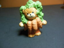 Lucy & Me Enesco Bear ~ A Bunch Of Carrots ~ Porcelain Figurine Rigg