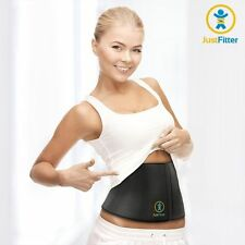 Womens Slimming Shaper Waist Trimming Exercise Toner Belt Sweat Wrap Burn Fat 42